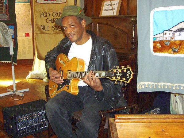 Musician in the District 6 Museum
