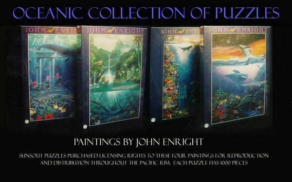 Puzzles...Oceanic Themes