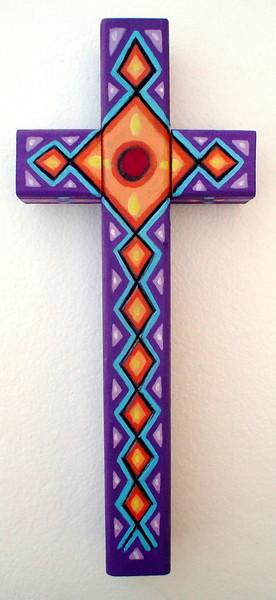 purpurine cross
