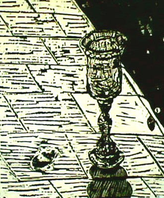 The Kiddush Cup/Woodcut/2007