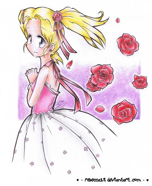 Feeling rosey