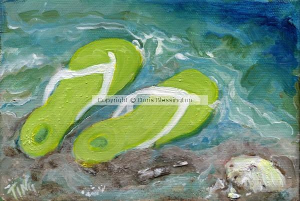 Green Flip Flops mini series #3