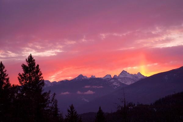 Sunset - Winter Solstice 2008
