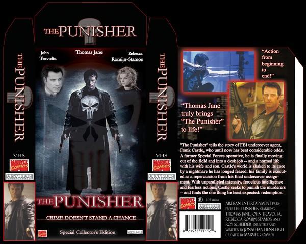 Punisher VHS Layout