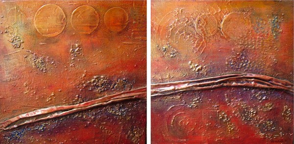 The Road less traveled (diptych)