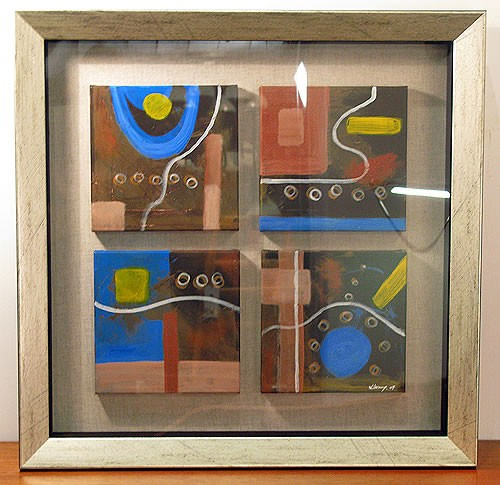 canvas puzzles - entry (series w/ frame)