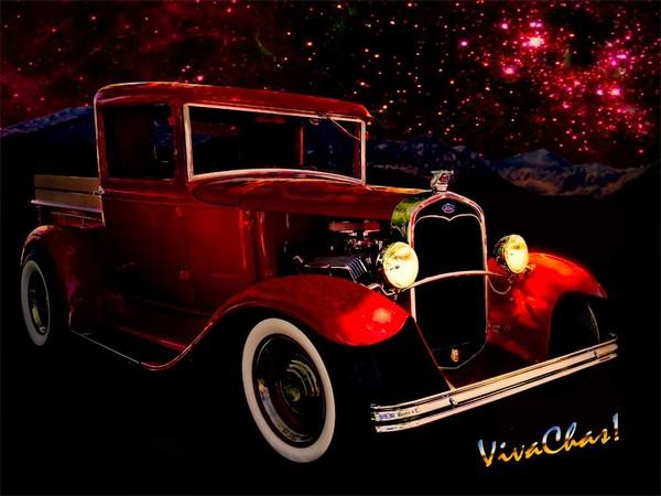 32 Ford Pickup Starlight