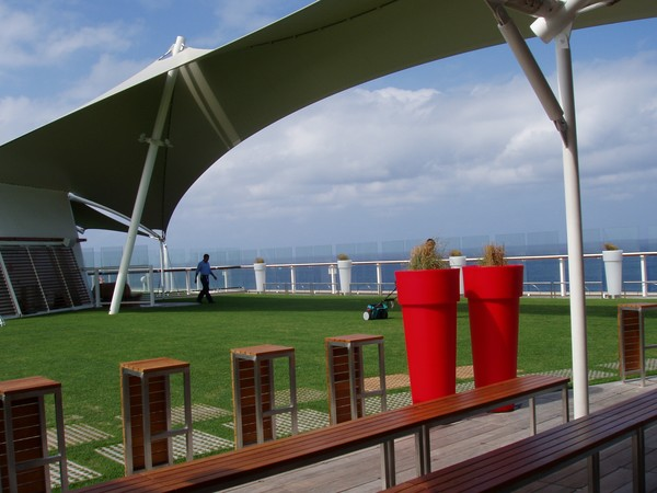 Grass on Cruise Ship???