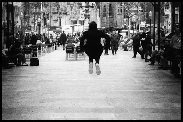 sagrada jump - barcelona