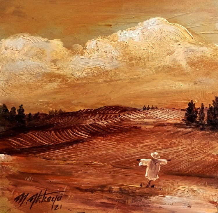 scarecrow in loneliness