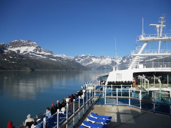 the Sapphire Princess cruise,Alaska,2012