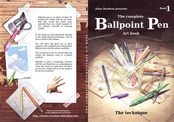 The Ballpoint pen art book