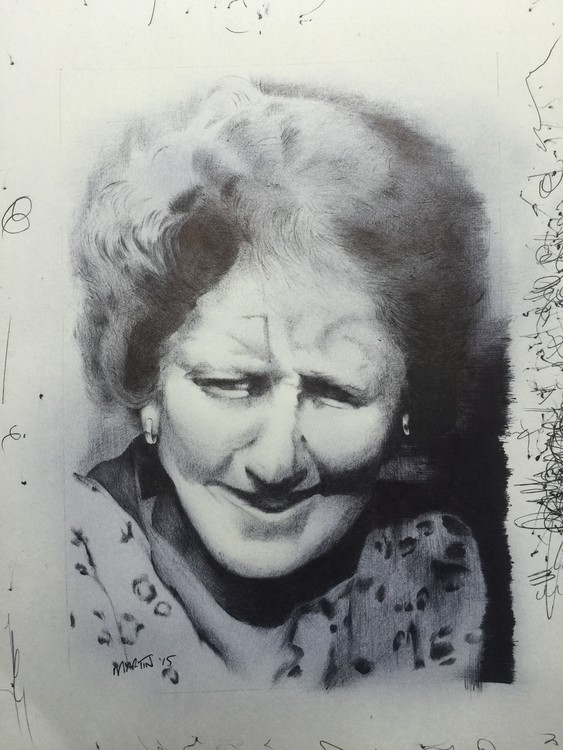 My Nain (Grandmother in welsh)