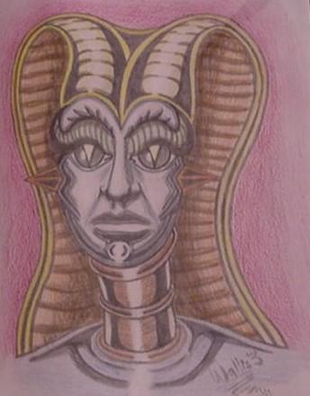 egyptian alien 3