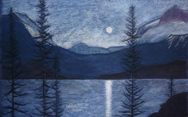 Emerald Lake Twilight