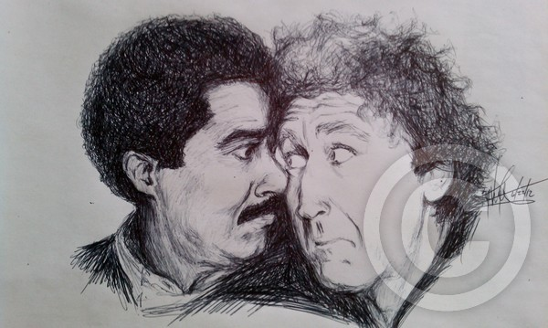 Richard Pryord & Gene Wilder