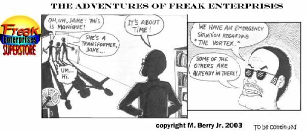 Freak Enterprises Strip #14