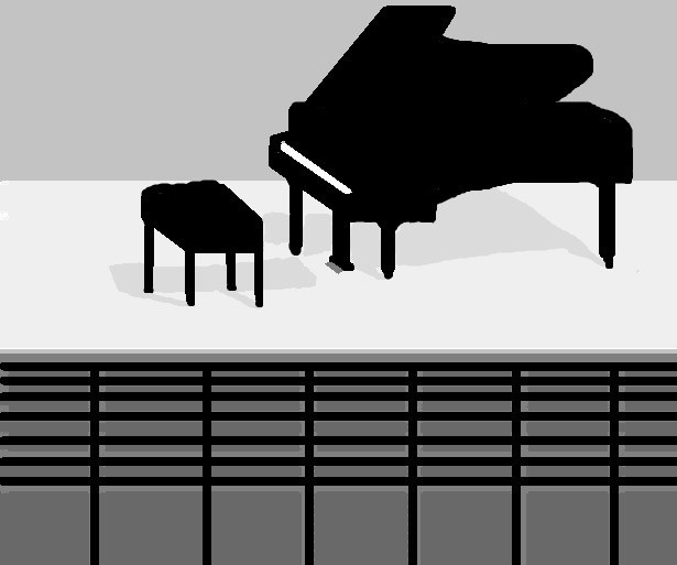 Piano Concert Begins In An Hour