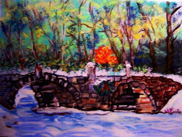 Carr bridge in winter