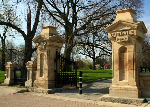 Goodale Park Gateway