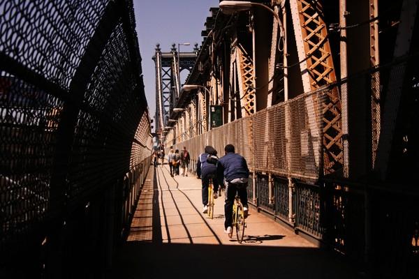 Approaching Manhattan