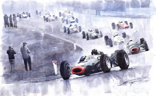 Graham Hill BRM P261 Belgian GP 1965