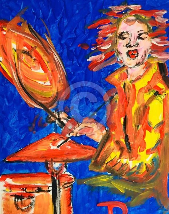Little Drummer Girl