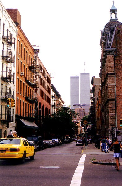 Twin Towers from the street