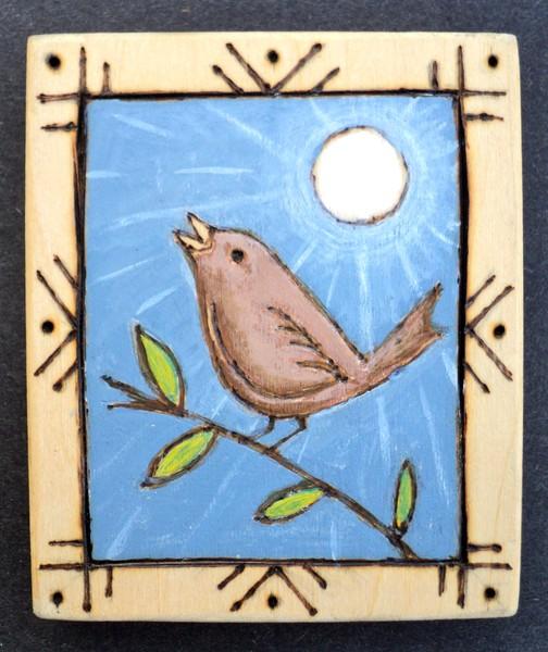 little bird kitchen magnet
