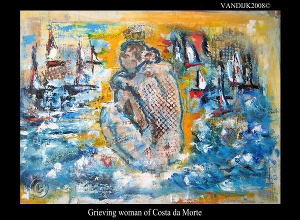 Grieving Woman of the Costa da Morte©