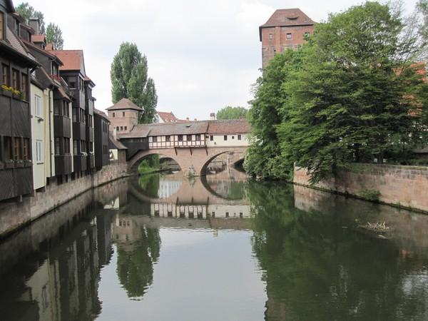 Pegnitz River Nuremberg