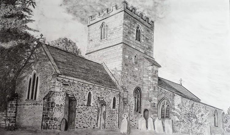 St Mary's Church in Winterborne Whitechurch, Dorset