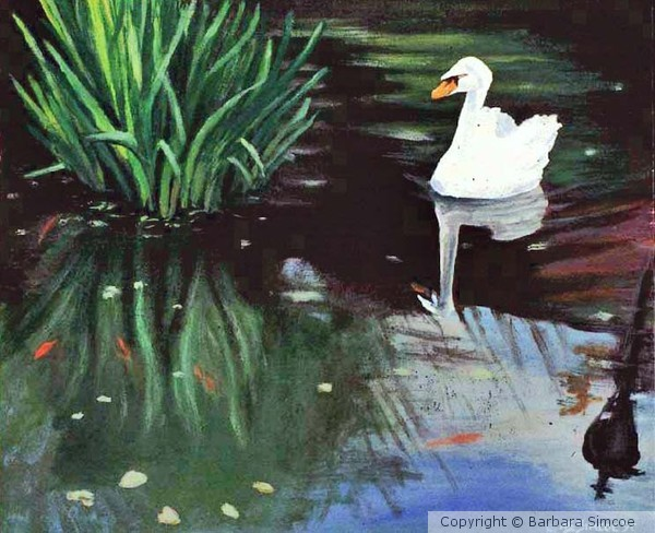 One Swan a Swimmin'