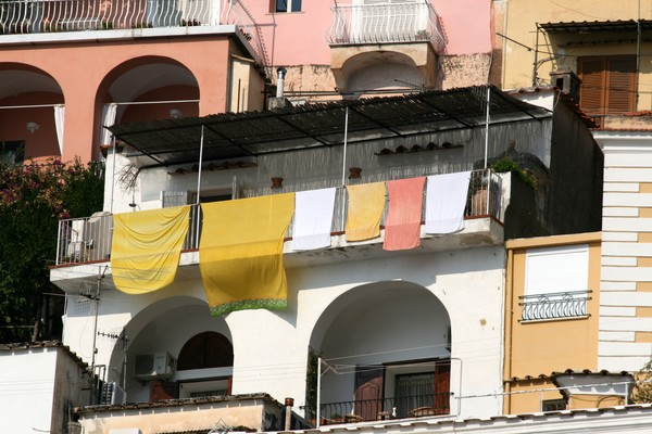 Wash Day in Positano