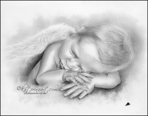 Baby Angel Boy