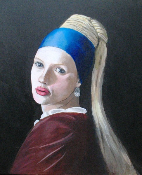 Girl With the Pearl Earring 2