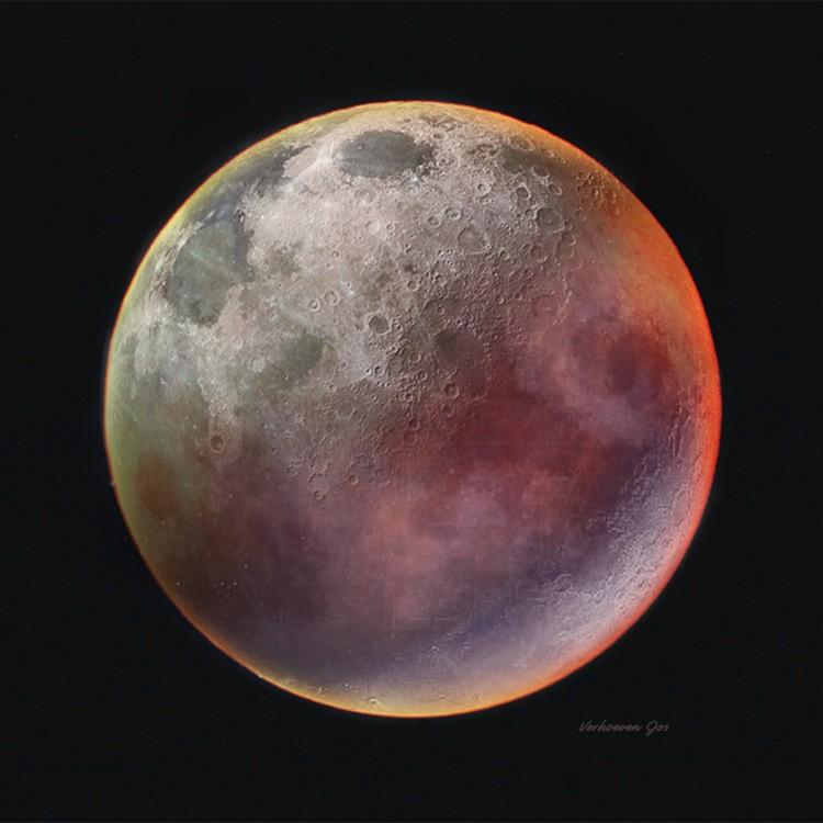 Red moon, Rode maan