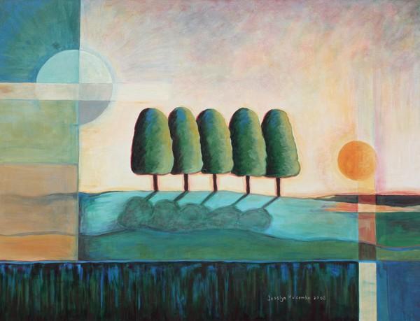 Five Trees