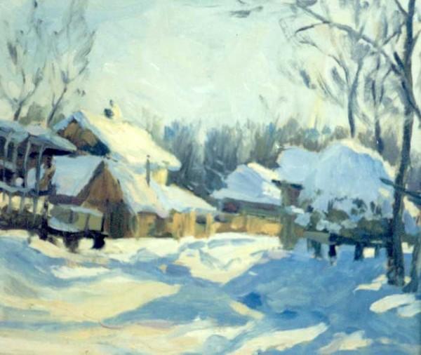Winter in Zaton