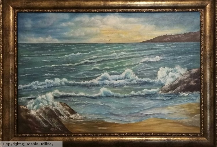 SEASCAPE OIL 36X24