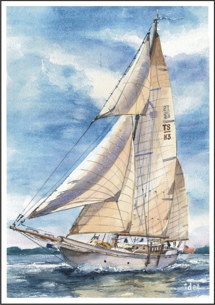 Traditional ketch