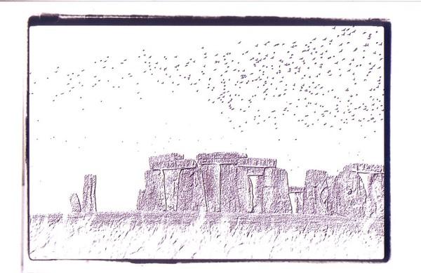 Stone Henge and the birds in retrospect
