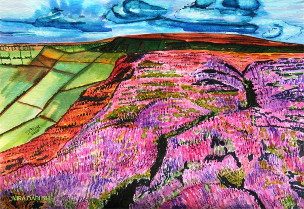 Delightful Landscape - At the Moors