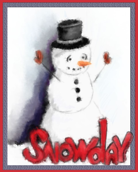 Snow Day, Snowman