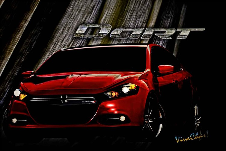 Dodge Dart Just Drifting Along with the Breeze