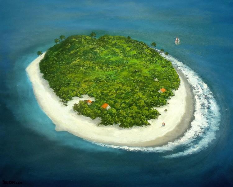 THE ISLAND (V-017)