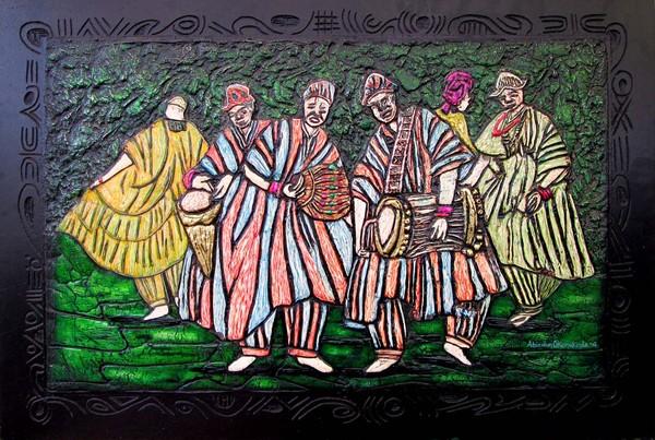 Ensembles of drummers II(Paintocast
