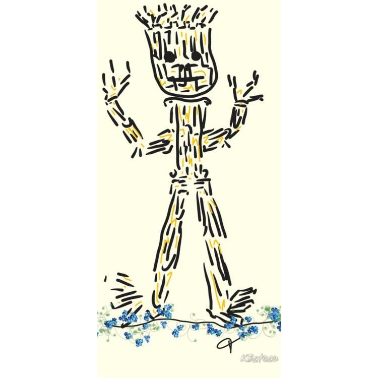 Simple Scribbles- I am Groot