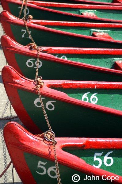 Boats on the River Nidd, Knaresborough