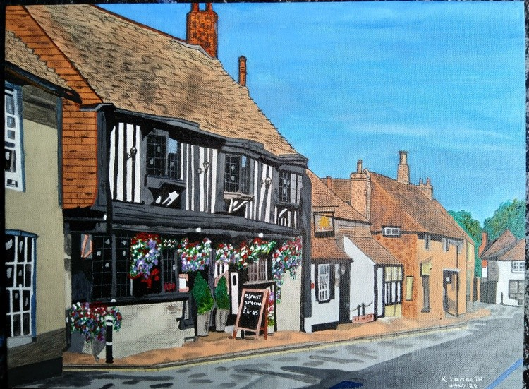 The Star Inn. Altriston East Sussex, England